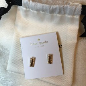 KATE SPADE RAISING THE BAR EARRINGS